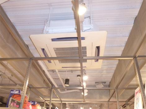 天井埋込カセット4方向の例