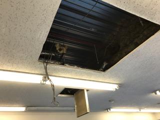 天井の補修は必要なし