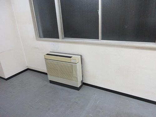 既設室内機(床置型)の状況