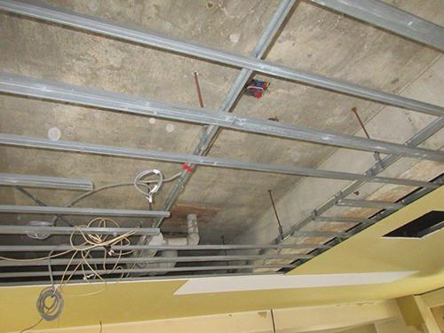 設置位置の天井開口状況