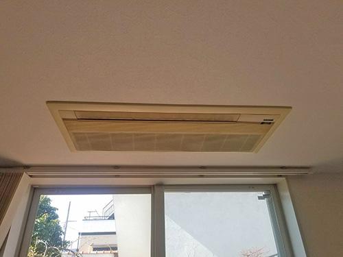 既存の天井埋込形室内機