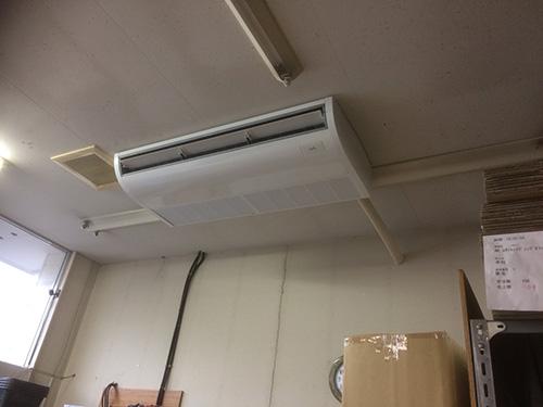 天井吊形設置完了
