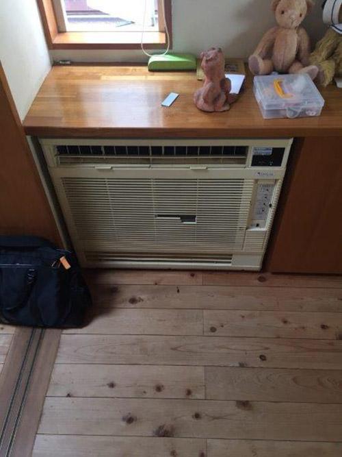 既設床置形エアコン