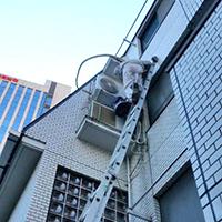杉並区のマンション3階にてルームエアコンの入替え【家庭用エアコン】