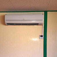 埼玉県戸田市の保育園にて壁掛形エアコンの入替え【業務用エアコン】