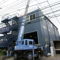 東京都大田区の会社ビルにてガスエアコンの入替え-その1【業務用エアコン】
