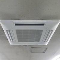 東京都大田区の会社ビルにてガスエアコンの入替え-その2【業務用エアコン】