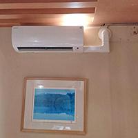東京都中央区の住居にて壁掛形・壁埋込形マルチエアコンの入替え【ハウジングエアコン】