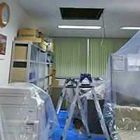 東京都千代田区のテナントビルにて天井埋込形4方向エアコンの入替え工事【業務用エアコン】