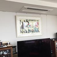 東京都新宿区のマンションにてダイキン製システムマルチの入替え工事【ハウジングエアコン】