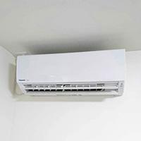 東京都大田区の新築住居にて壁掛形エアコンの新規取付工事【ルームエアコン】