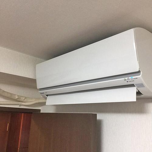 埼玉県さいたま市のマンションにてパナソニック製壁掛形マルチエアコンの新規設置工事【ハウジングエアコン】