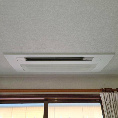 東京都中野区の一戸建てにてパナソニック製マルチエアコンの入替え工事【ハウジングエアコン】