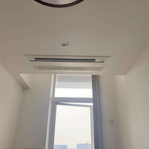 東京都品川区のマンションにてダイキン製マルチエアコンの入替え工事【ハウジングエアコン】